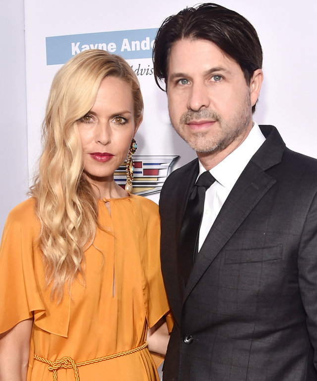 Rachel Zoe (L) and Rodger Berman