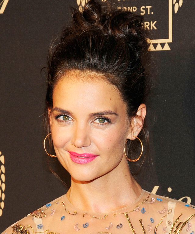 NEW YORK, NY - SEMPTEMBER 7: Katie Holmes attends the Cartier Fetes the Grand Opening of The Fifth Avenue Mansion at Cartier Mansion on SEPTEMBER 7, 2016 in New York City. (Photo by Paul Bruinooge/Patrick McMullan via Getty Images)