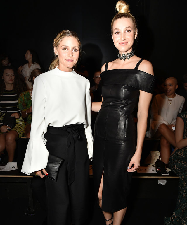 Olivia Palermo (L) and Whitney Port