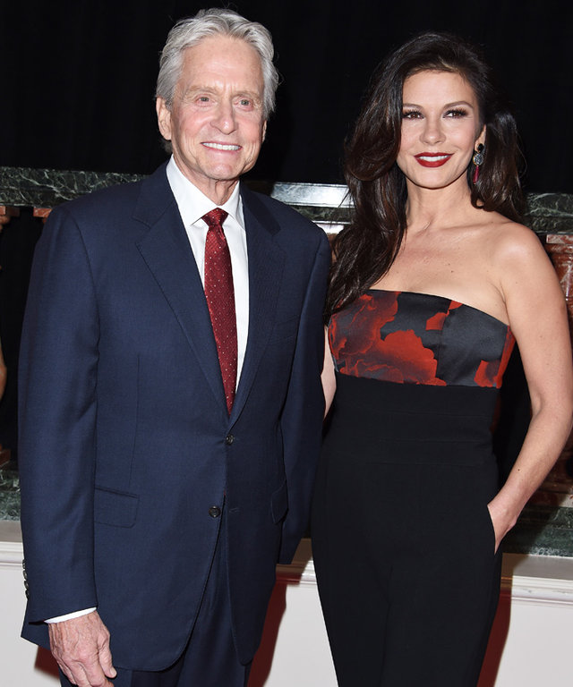 Catherine Zeta-Jones Celebrates Her Shared Birthday with Michael Douglas on Instagram