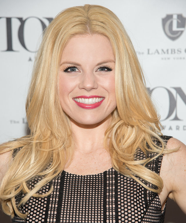 NEW YORK, NY - MAY 24:  Megan Hilty attends A Toast to the 2016 Tony Awards Creative Arts Nominees at The Lambs Club on May 24, 2016 in New York City.  (Photo by Mike Pont/WireImage)