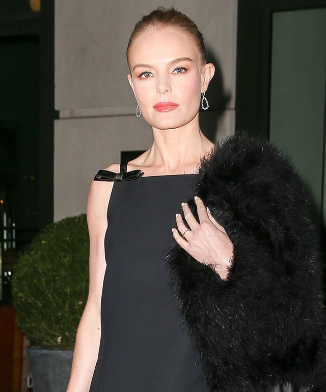 Bow Down to Street Style Queen Kate Bosworth in Her Chic All-Black Ensemble