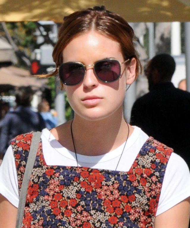 LOS ANGELES, CA - SEPTEMBER 27: Tallulah Belle Willis is seen on September 27, 2016 in Los Angeles, California.  (Photo by BG002/Bauer-Griffin/GC Images)