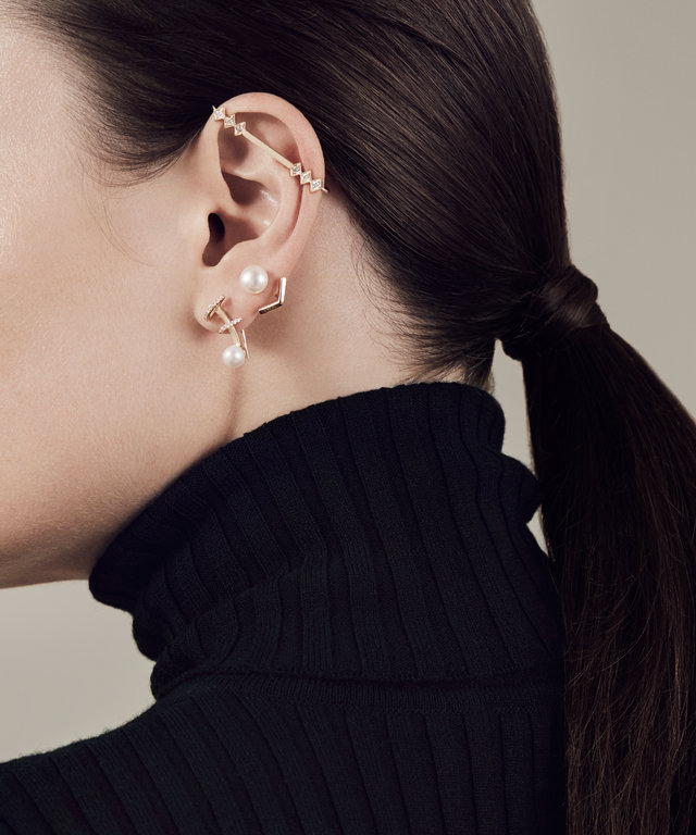 4 Cool Ways to Stack Your Earrings