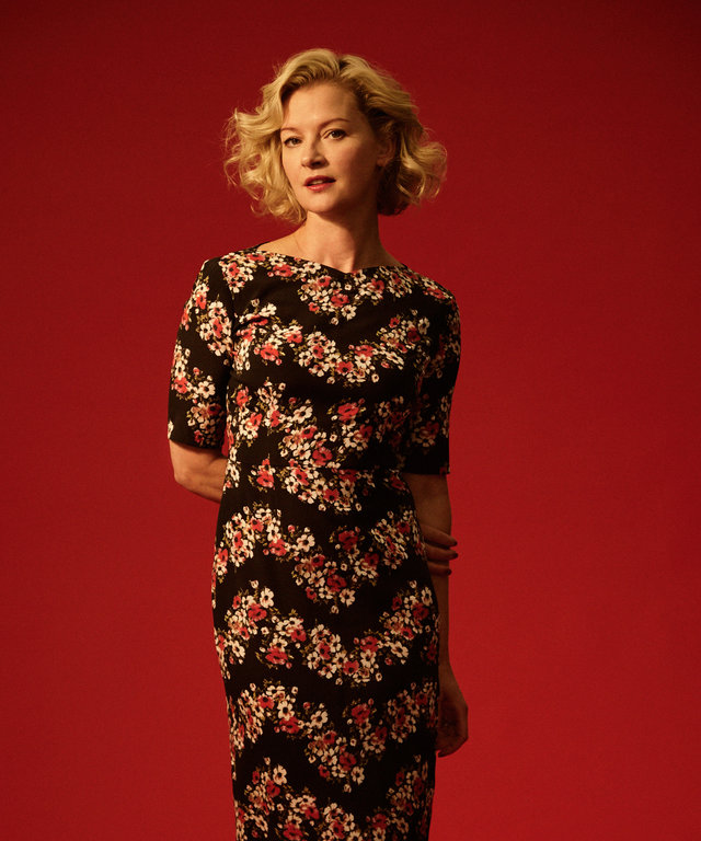 Gretchen Mol Talks Starring in Chance with Hugh Laurie