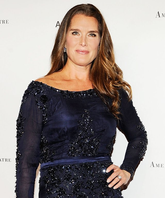 Brooke Shields Sparkles in a Body-Hugging Dress at the American Ballet Fall Gala