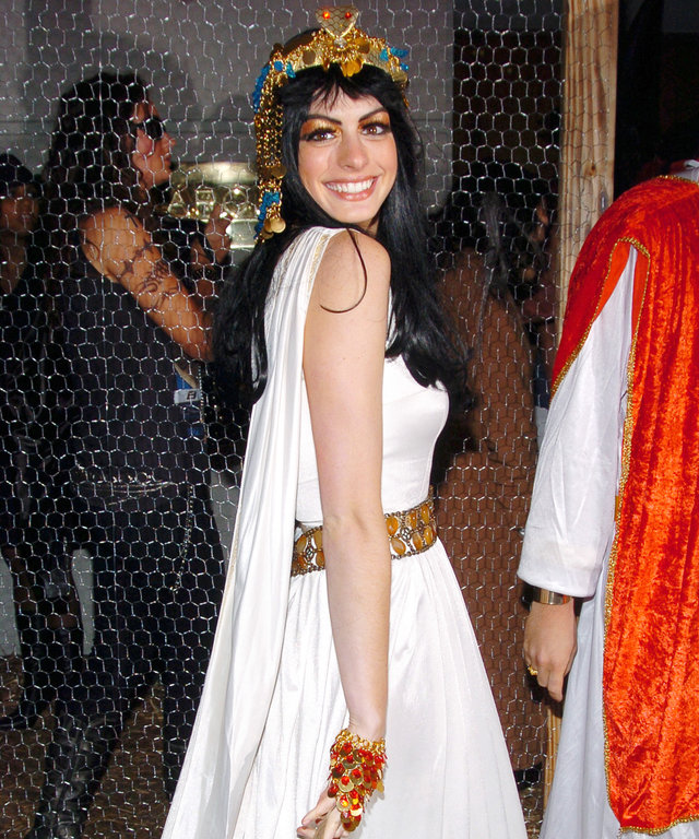 20 Awesome Celebrity Halloween Costumes—See Anne Hathaway as Cleopatra