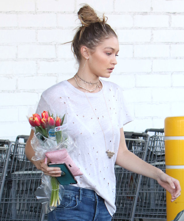 Gigi Hadid Proves Distressed Is Best with Her Relaxed Weekend Style