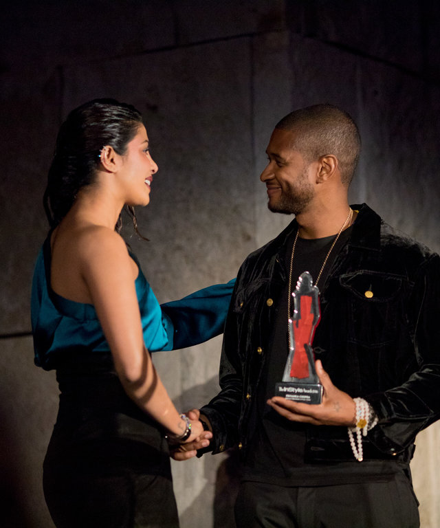 Usher Honors Breakthrough Style Star Priyanka Chopra at the 2016 InStyle Awards with a Touching Speech