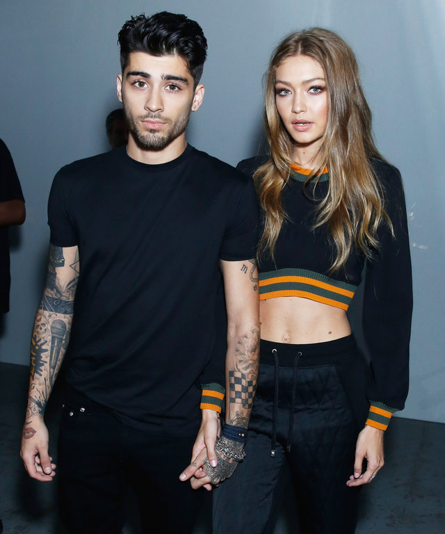 "Gigi Hadid Gives Zayn Malik a Sweet Shout-Out on Instagram: ""My Handsome!"""