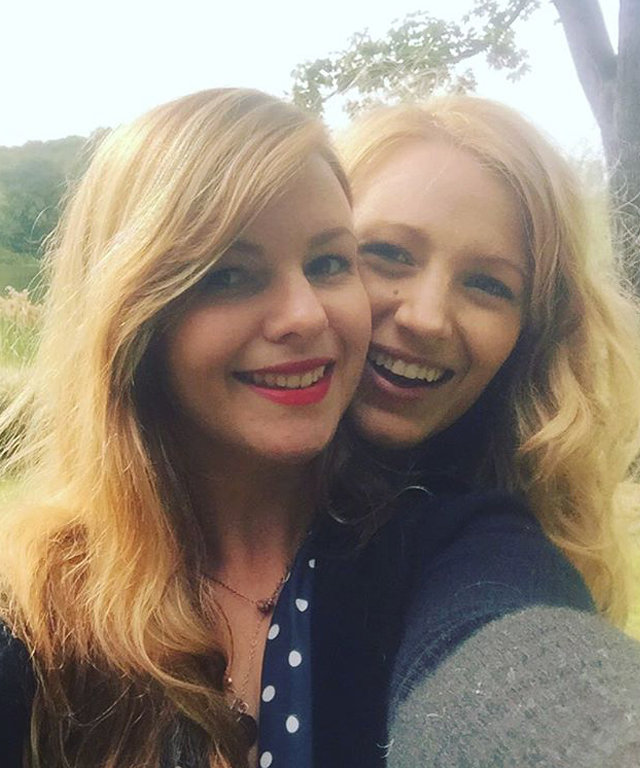 "Blake Lively Cradles Amber Tamblyn's Baby Bump: ""So Proud of My Dear Friend"""