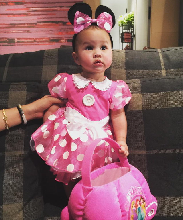 "Chrissy Teigen ""Can't Stop"" Dressing Up Daughter Luna in These Adorable Halloween Costumes"