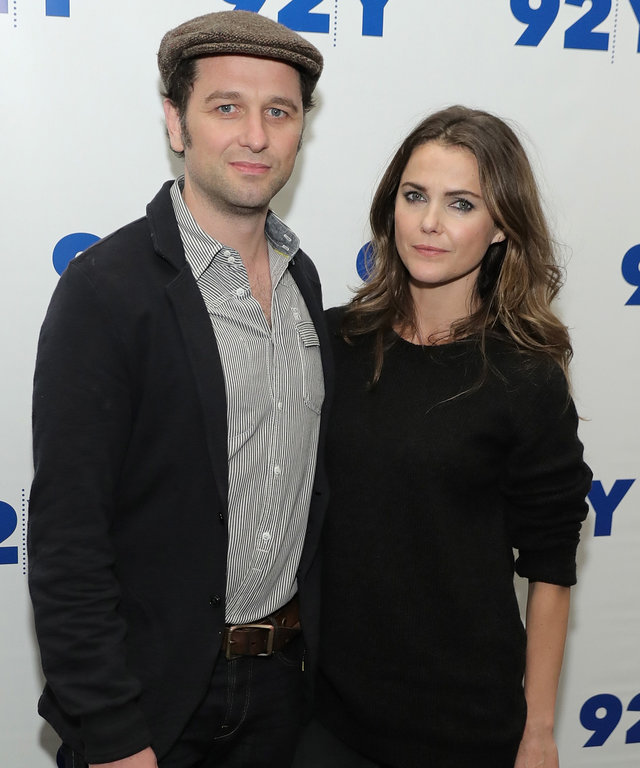 """NEW YORK, NY - OCTOBER 30:  Actors Matthew Rhys and Keri Russell attend """"An Evening With The Americans: Keri Russell, Matthew Rhys, Joe Weisberg And Joel Fields"""" at 92nd Street Y on October 30, 2016 in New York City.  (Photo by Neilson Barnard/Getty Image"""