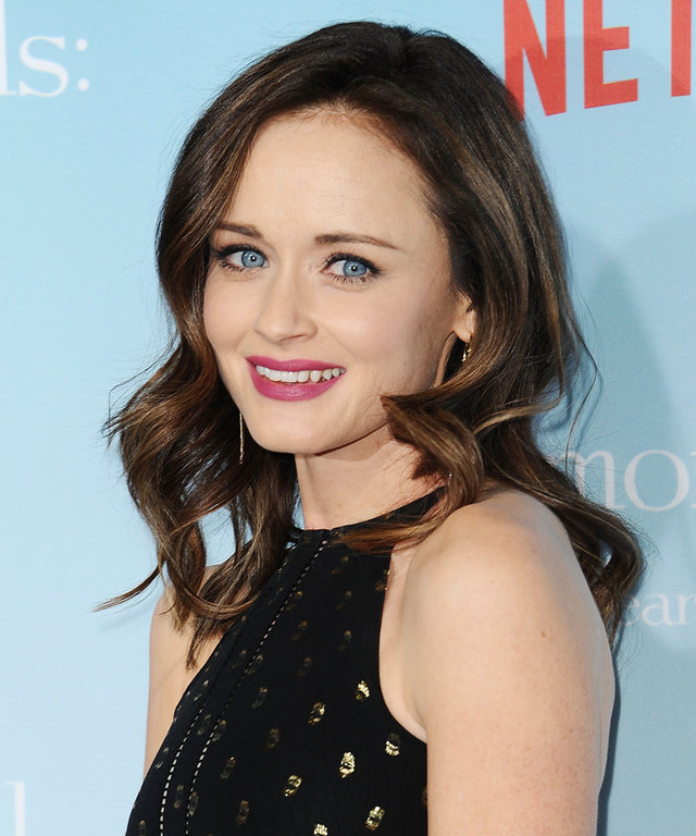 "LOS ANGELES, CA - NOVEMBER 19:  Actress Alexis Bledel attends the premiere of ""Gilmore Girls: A Year in the Life"" at Regency Bruin Theatre on November 18, 2016 in Los Angeles, California.  (Photo by Jason LaVeris/FilmMagic)"