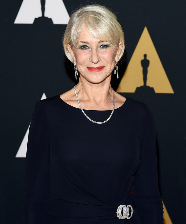 Mandatory Credit: Photo by Buckner/Variety/REX/Shutterstock (7431523hi) Helen Mirren The Governors Awards, Arrivals, Los Angeles, USA - 12 Nov 2016