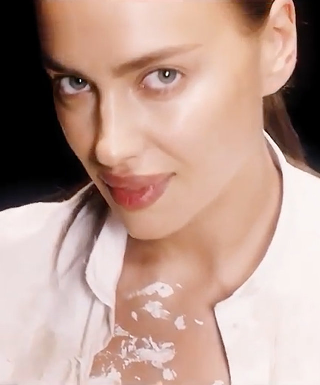 Pregnant Irina Shayk Channels Demi Moore's Ghost Character
