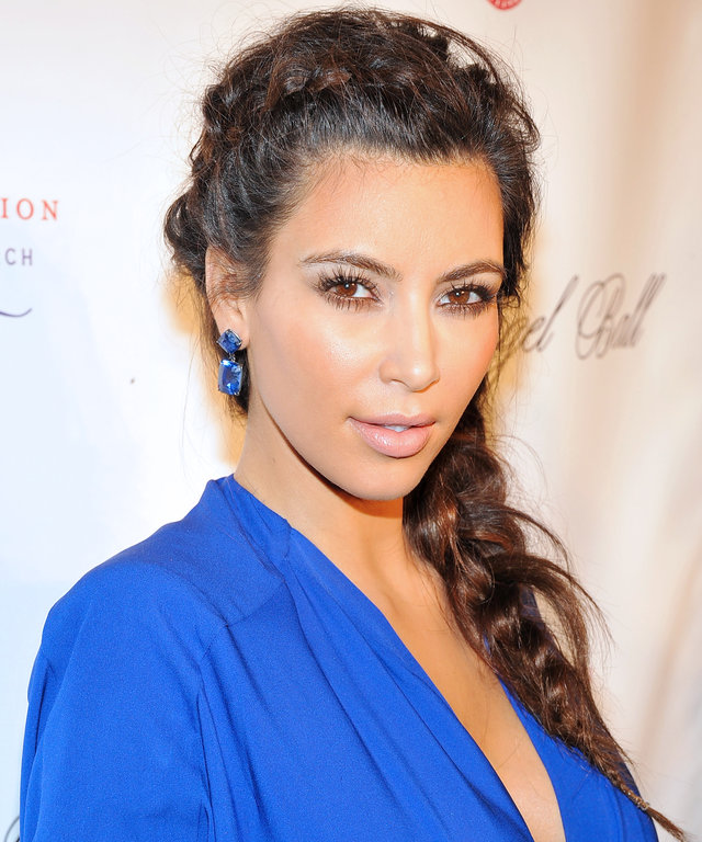 This Is the Dress Kim K Wore the Night North West Was Conceived
