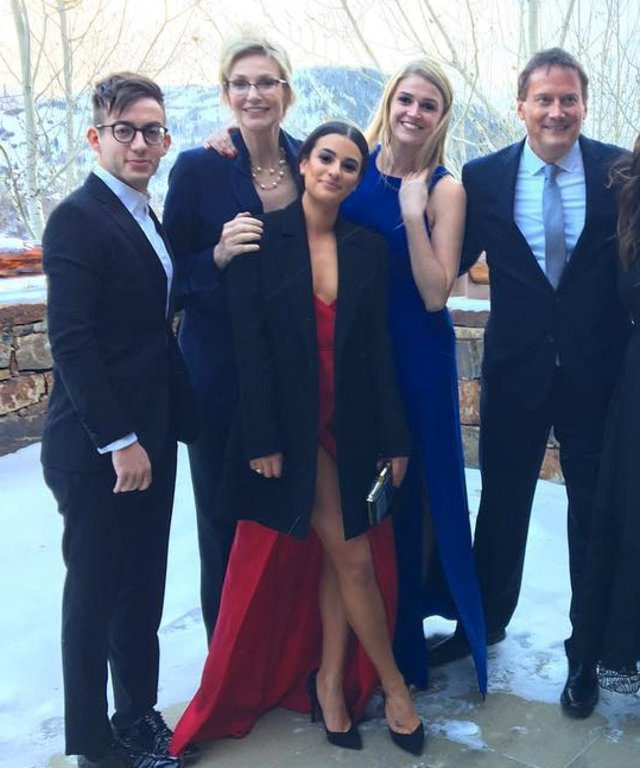 The Glee Cast Had a Full-On Reunion at Becca Tobin's Wedding