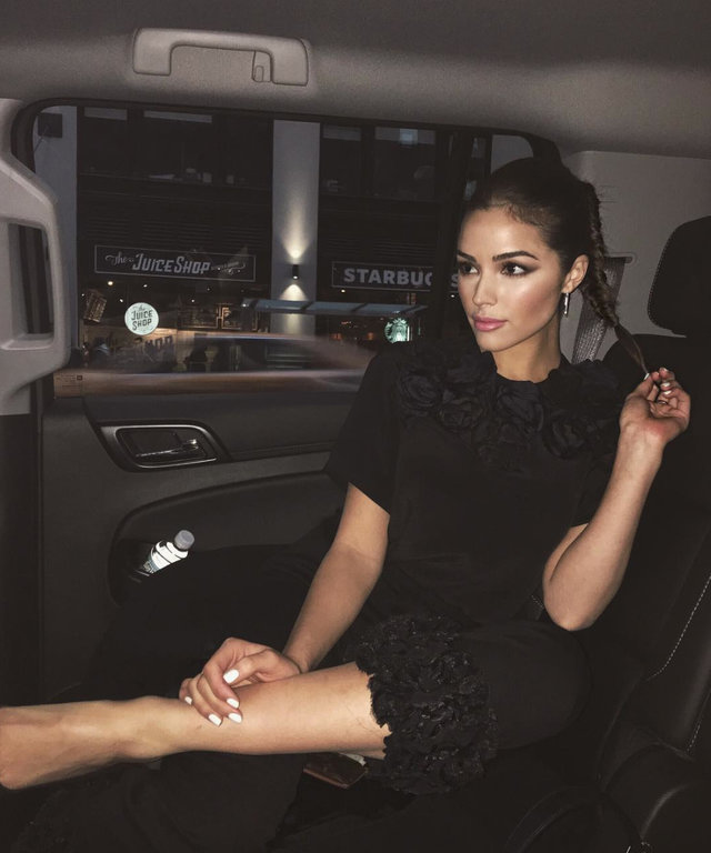 Olivia Culpo's Braid Solves All of Your Holiday Hairstyle Problems