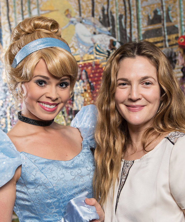 Drew Barrymore Took Her Daughters on a Magical Trip to Disney World