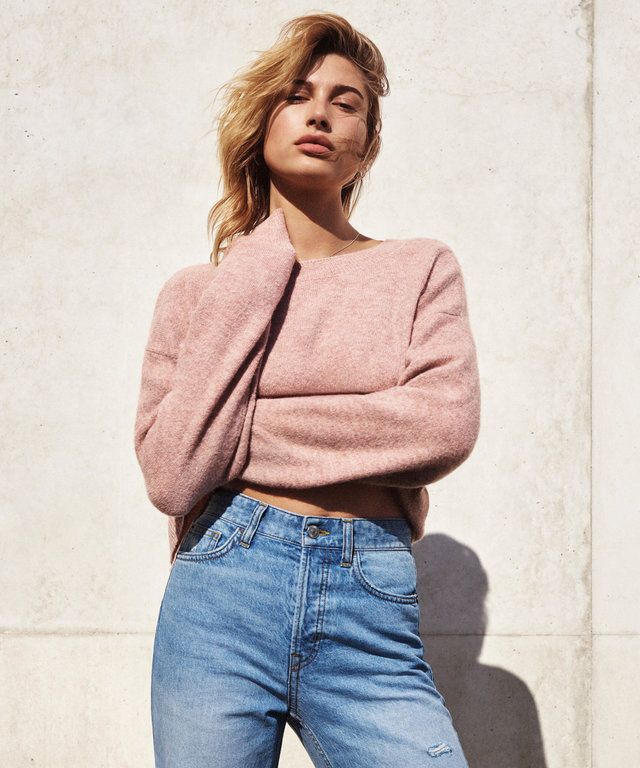 Hailey Baldwin Describes Her Perfect Pair of Jeans