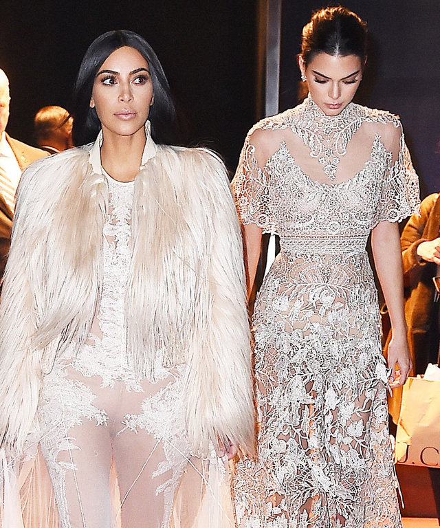 Kim K. and Kendall Are a Sheer Delight Making Their Big Screen Debut