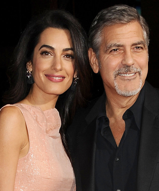 Amal Clooney Honored for Human Rights Work, Looks Fabulous