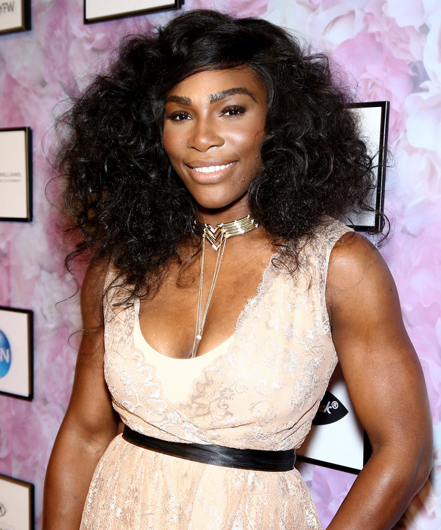 NEW YORK, NY - SEPTEMBER 12:  Serena Williams attends HSN Presents Serena Williams Signature Statement Collection Fashion Show at Kia STYLE360 New York Fashion Week at Metropolitan West on September 12, 2016 in New York City.  (Photo by Thomas Concordia/W