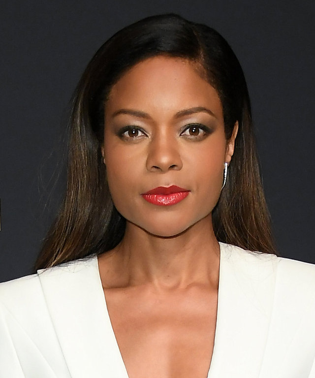 GENEVA, SWITZERLAND - JANUARY 17: Naomie Harris arrives at IWC Schaffhausen at SIHH 2017  Decoding the Beauty of Time  Gala Dinner on January 17, 2017 in Geneva, Switzerland.  (Photo by Venturelli/WireImage)