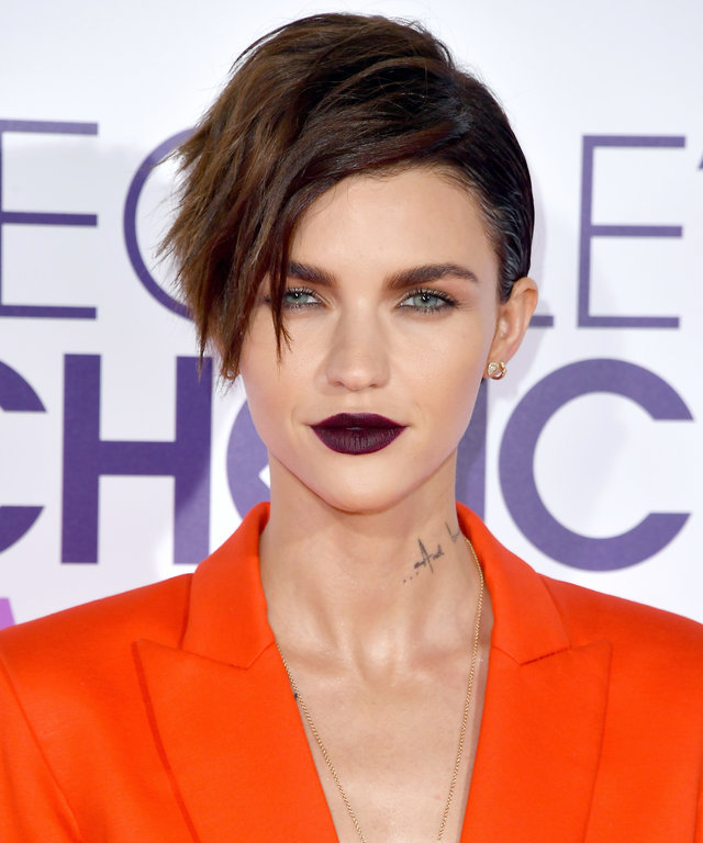 Ruby Rose Shows Us What Urban Decay's Vice Liquid Lipstick Looks Like IRL