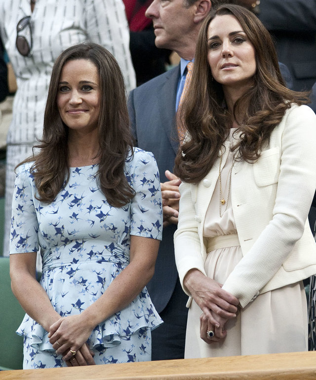Watch Kate and Pippa Middleton as Mini Bridesmaids