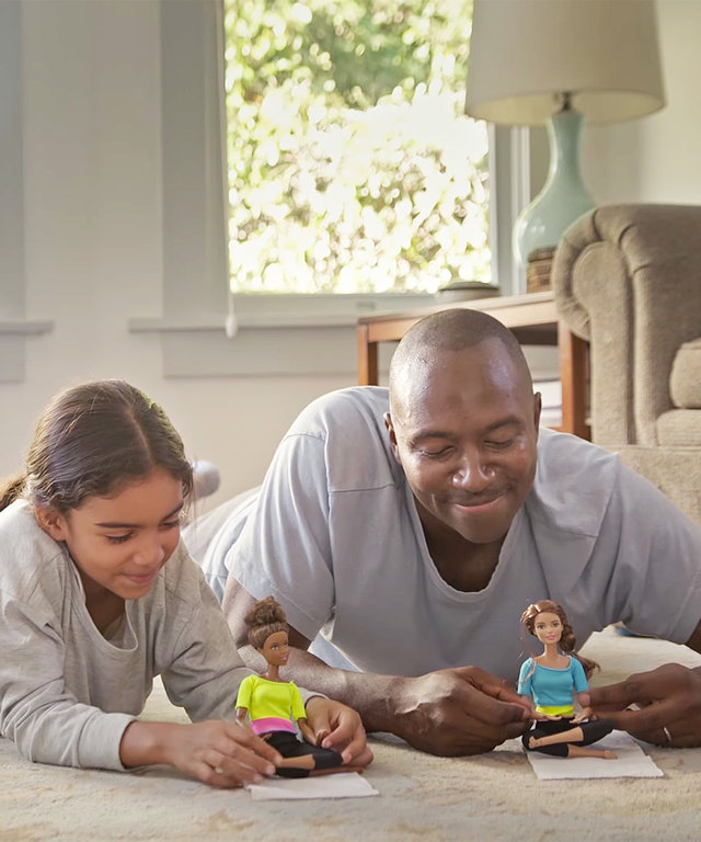 This Barbie Ad Shows a Simple Way a Dad Can Be a Shero
