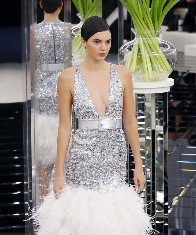All the Action at Chanel's Couture Show