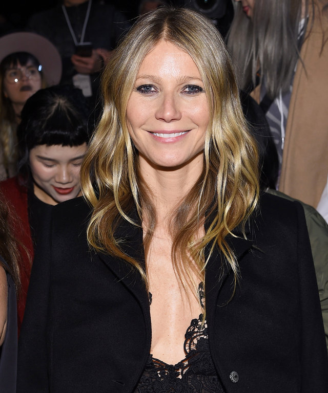 NEW YORK, NY - FEBRUARY 09:  Actress Gwyneth Paltrow attends a front row during  La Perla Fall/Winter 2017 RTW Show at SIR Stage 37 on February 9, 2017 in New York City.  (Photo by Dimitrios Kambouris/Getty Images for La Perla)