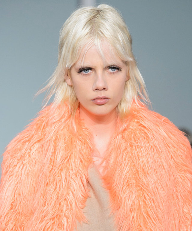 Sies Marjan Makes a Case for Full-Strip Faux Lashes at #NYFW
