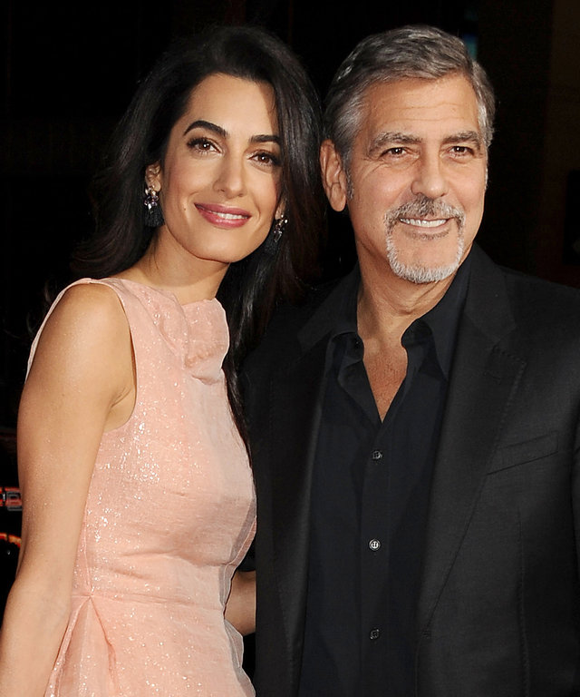 George and Amal Clooney Reveal the Sex of Their Twins