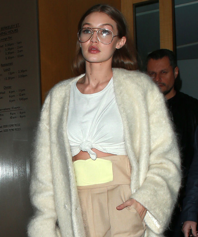 Gigi Hadid Thinks Beige Is the New Black