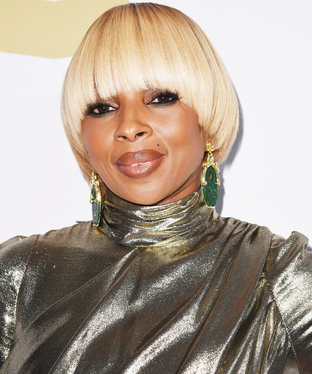 Mary J Blige Instyle