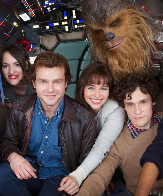 Get Excited: Han Solo Movie Releases First Cast Photo
