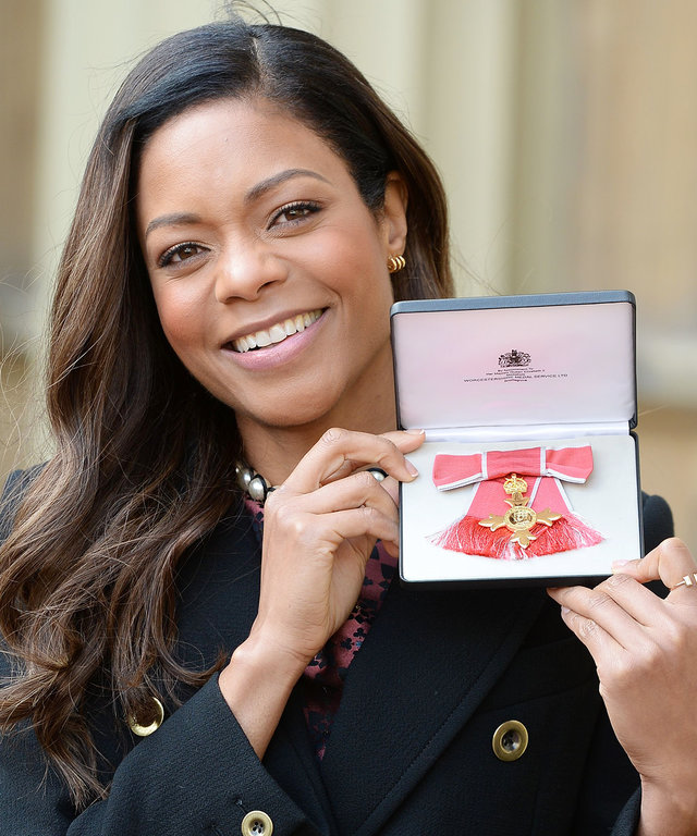 Naomi Harris Left Buckingham Palace with a Little Gift from the Queen