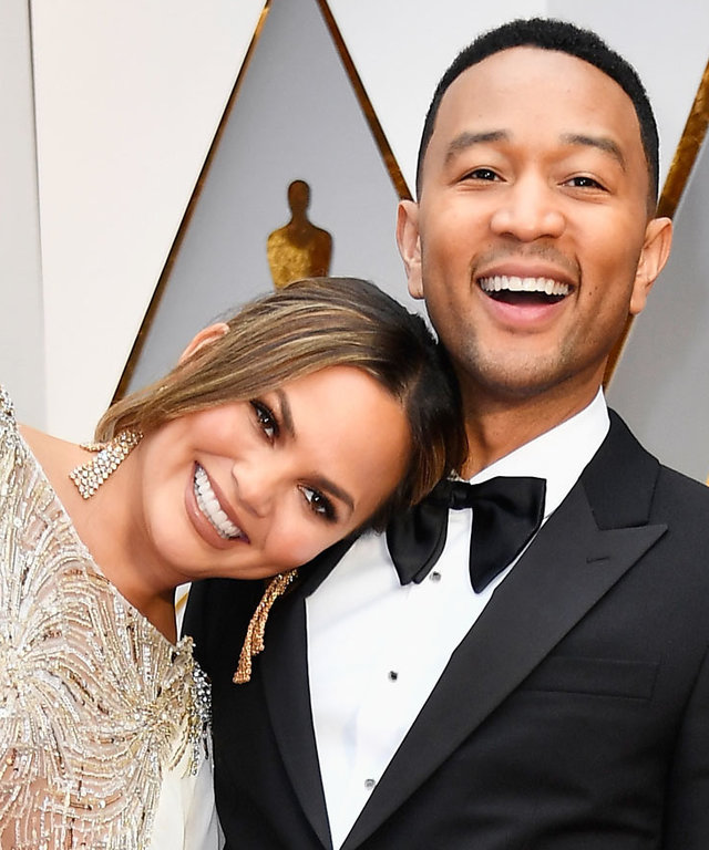 Chrissy Teigen and John Legend Can't Keep Their Hands Off Each Other