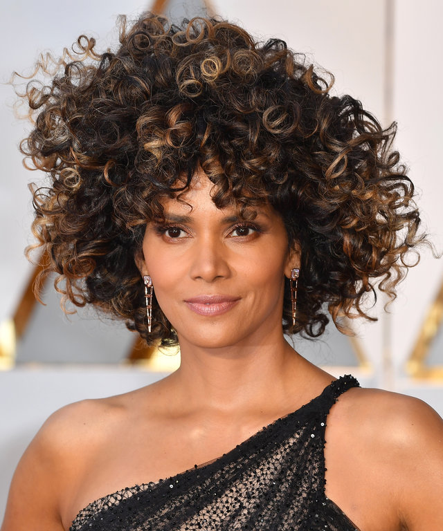 Halle Berry Chopped Off 5 Inches of Her Hair for the Oscars