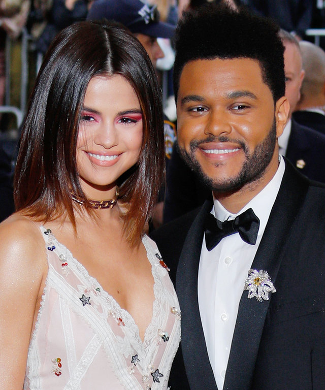 Selena Gomez and The Weeknd attend 'Rei Kawakubo/Comme des Garçons:Art of the In-Between' Costume Institute Gala at Metropolitan Museum of Art on May 1, 2017 in New York City.