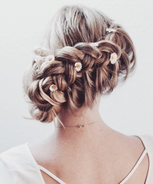 Wedding Hairstyles Inspiration And Style Celebrity Updos Instyle