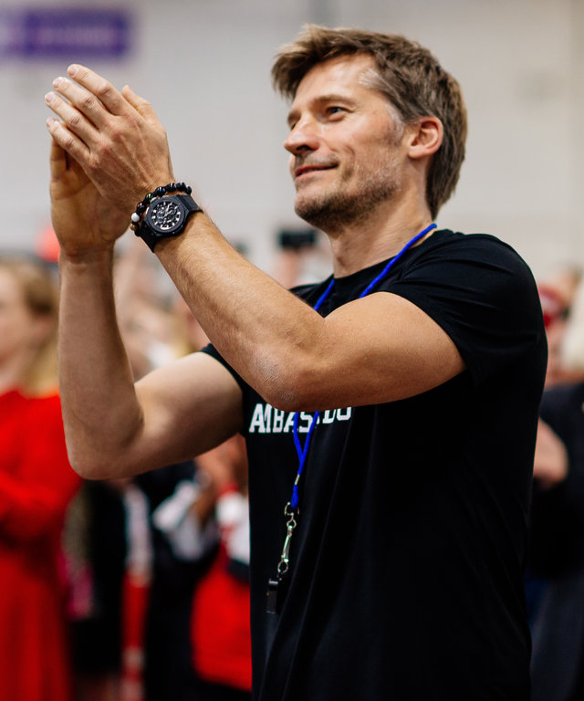 Global Girls World Cup with Nikolaj Coster-Waldau