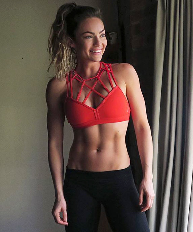 e0bd260188963 Emily Skye Claps Back at Critics Who Said She Got Back in Shape  Too Fast   After Pregnancy