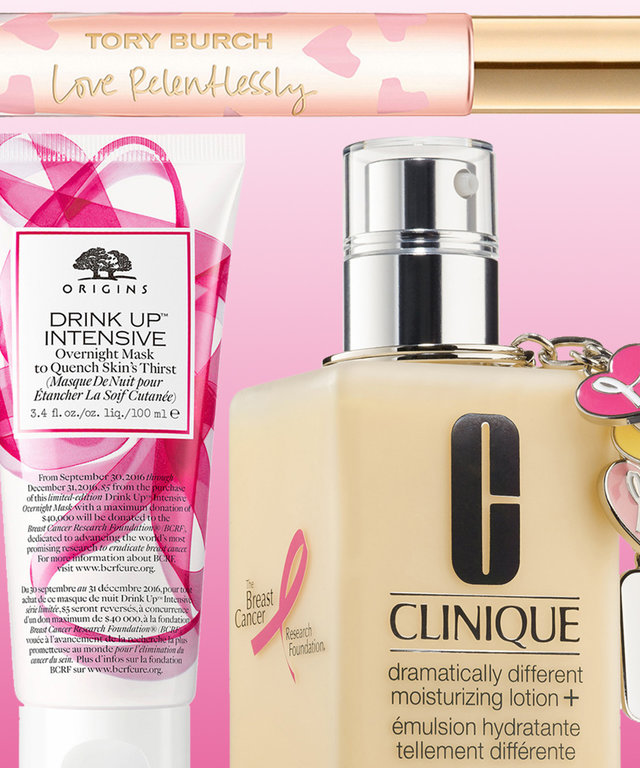 Breast Cancer Awareness Month Beauty Products | InStyle com