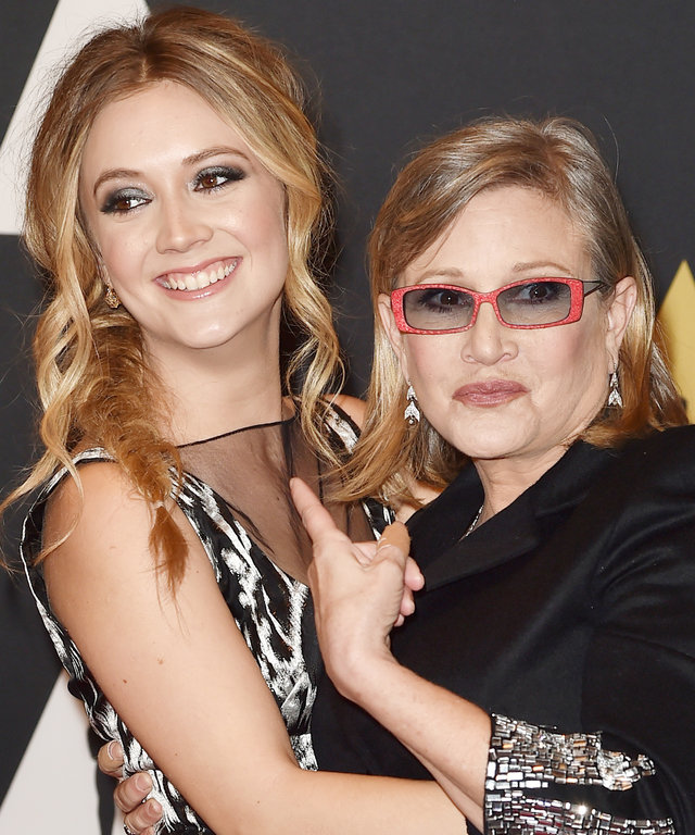 Billie Lourd Carrie Fisher