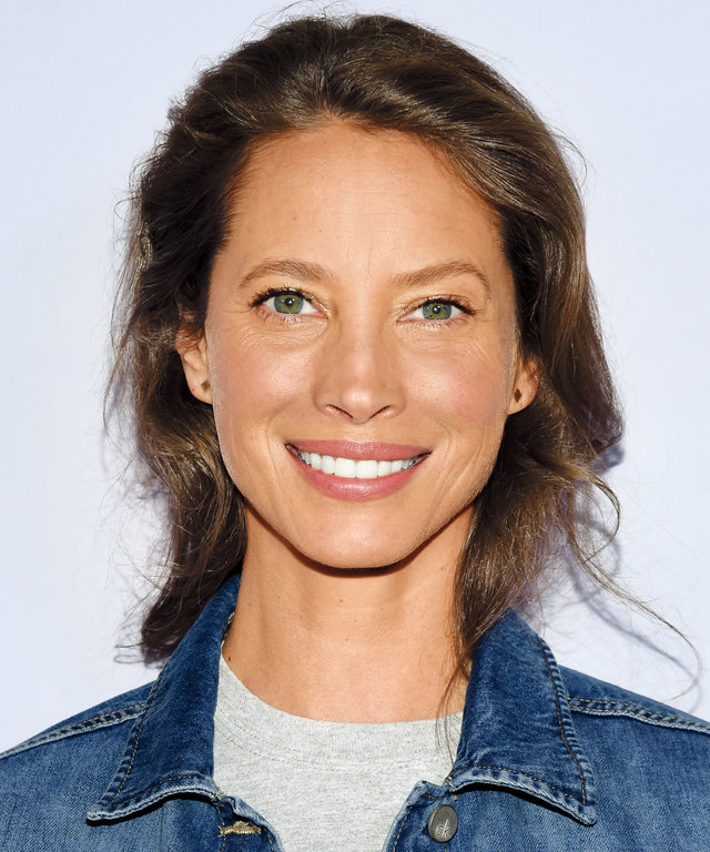 InStyle December - Christy Turlington