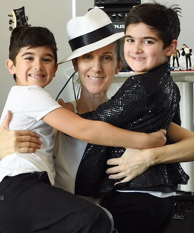 Celine Dion Twin Boys